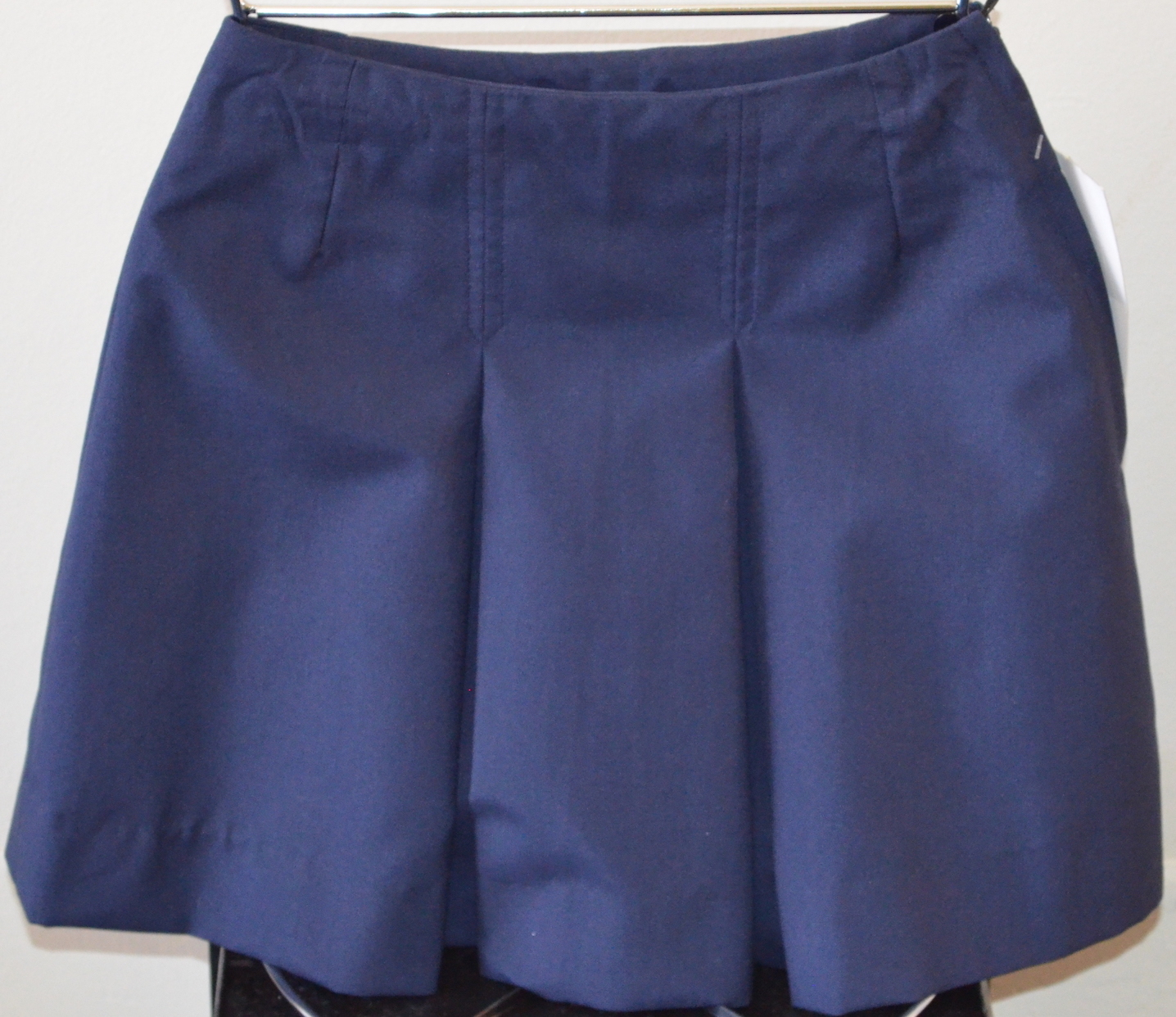 Junior pleated skirt