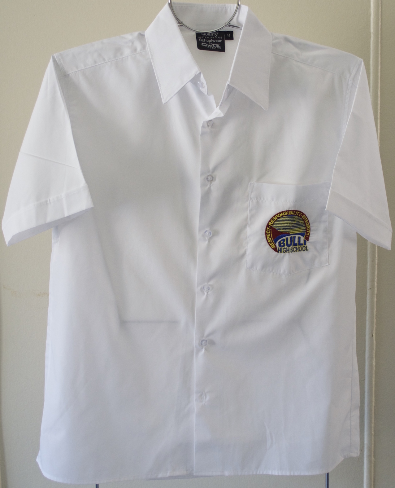 Senior boy's button shirt